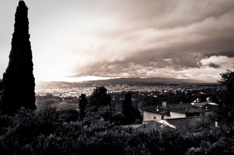 Florence, approaching storm
