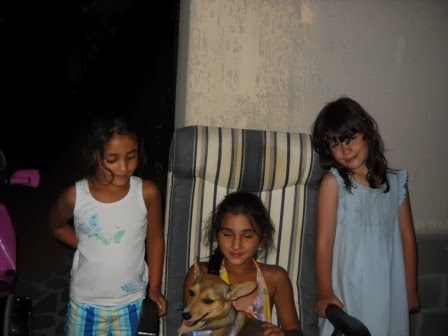 Chicco with little indian guests from New Delhi - (They in live in Germany)