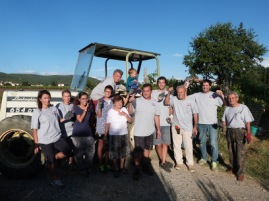 Bianchi Team in the Harvest 2015