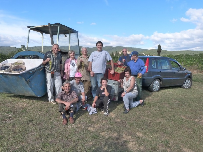 Team Last Harvest 2015 - Cappannelle Farm