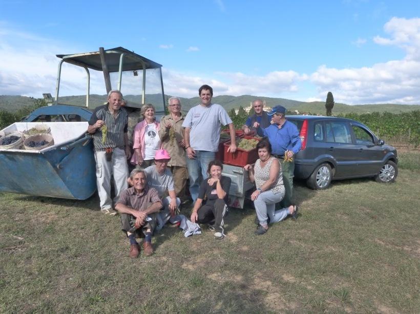 Team Last Harvest 2015 - Cappannelle Farm